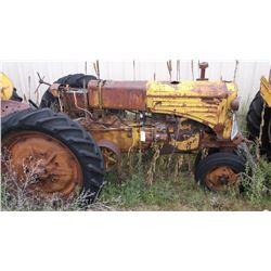 Z Rednose MM Tractor- Engine Seized- Gas  #610654