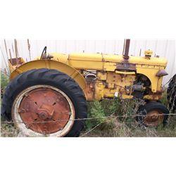 UTU MM Tractor- Engine Seized- Gas  #610654