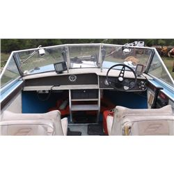 1976 Star Craft Boat- 18.5'- 90HP Mercury Tower of Power Motor with Automatic Oiler- 8HP Mercury Kic