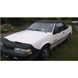 1992 Pontiac Sunbird SE Convertible- Runs and Seems Mechanically Sound- New tires- 116,297 Miles