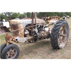 Case Tractor Model S?- Engine Not Seized- Bad Carburetor- Gas