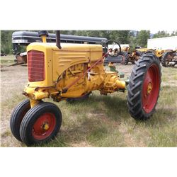 RT MM Tractor-Runs Great- Gas- 1940's