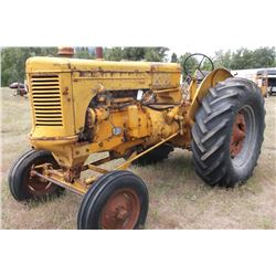 UTS MM Tractor- Engine Seized- Gas  #0124807794