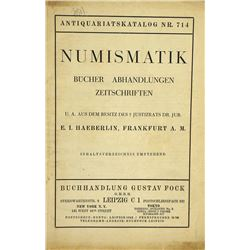 The Haeberlin Numismatic Library
