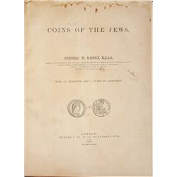 Madden's 1903 Coins of the Jews