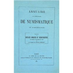 Rare Offprints by Ponton d'Amécourt