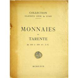 Original Claudius Côte Tarentine Sale
