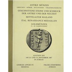 Complete Set of Frank Sternberg Coin Sales