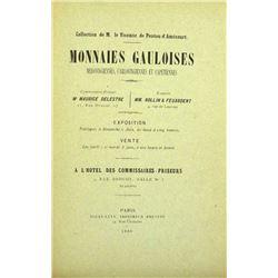 The Ponton d'Amécourt Monnaies Gauloises, &c.