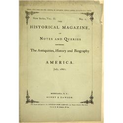 The Historical Magazine for 1867