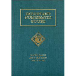 Hardcover 1990 Adams Library Sale