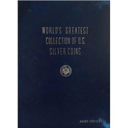 Abner Kreisberg's Full Leather World's Greatest Collection of U.S. Silver
