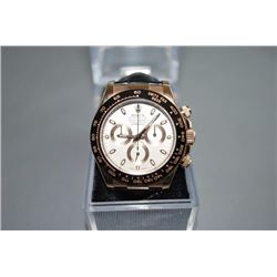 ROLEX DAYTONA 18K ROSE GOLD WATCH