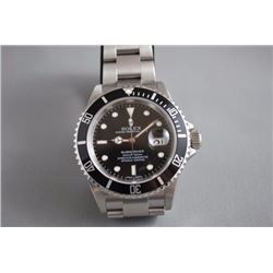 MENS ROLEX SUBMARINER WATCH