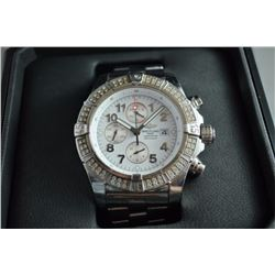 BREITLING SUPER AVENGER WATCH WITH BOX