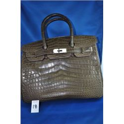 HERMES ALLIGATOR PURSE