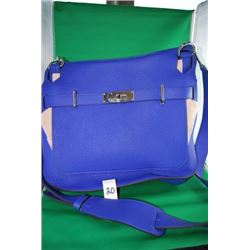 HERMES ELECTRIC  BLUE BAG