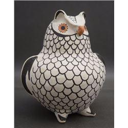 ACOMA POTTERY OWL (TORIVIO)
