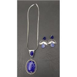 MEXICAN NECKLACE AND EARRINGS