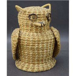 PAPAGO BASKETRY OWL