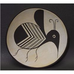 ACOMA POTTERY PLATE (LOWDEN)