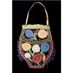 Iroquois Beaded Bag 19th to 20th Century
