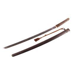 WWII Japanese Samurai Sword