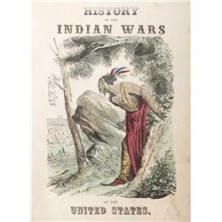 Indian Wars by William Moore First Edition c. 1853