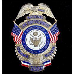 2009 Presidential Inauguration Police Badge