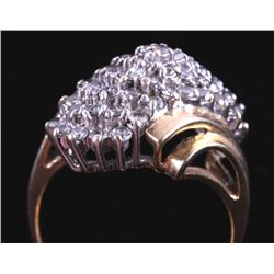 .39 CTW 14K Gold and Diamond Ring
