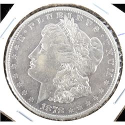 1878 8TF Morgan Silver Dollar EF40 RARE