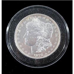 1878-S Morgan Silver Dollar MS63 Toned