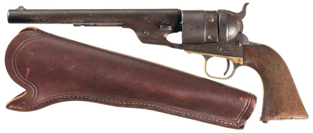Colt Model 1860 Army Richards-Mason Conversion Revolver with Holster,  Parts, and Research
