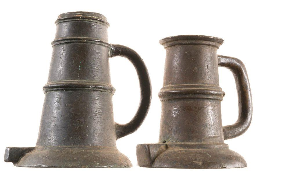 Collector's Lot of Two Signal Cannons -A) Bronze