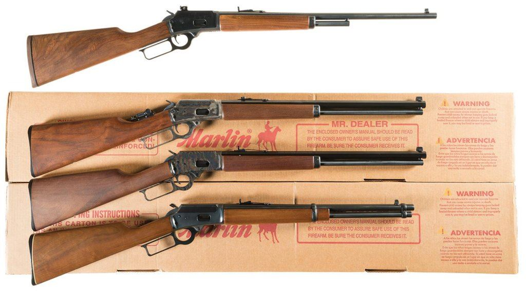 Four Marlin Model 1894 Lever Action Rifles -A) Marlin Model 1894CL Classic  Rifle