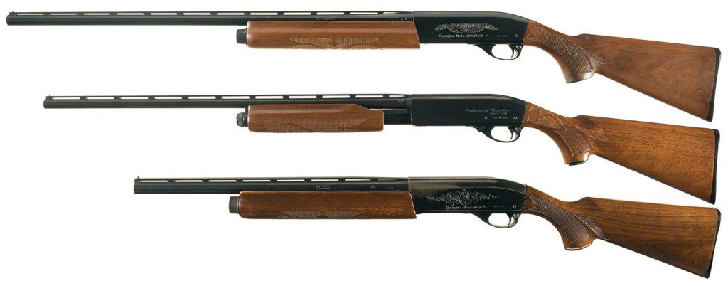 Three Remington Sporting Shotguns -A) Remington Model 1100 LT-20  Semi-Automatic 20 Gauge Shotgun wit