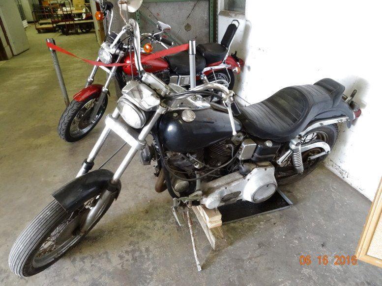 1966 Harley Davidson Shovelhead 66FLHFB, Needs Total Restoration - Vin #  66FLH12260