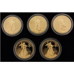 (1) COIN: 2013 $50 American Gold Eagle Proof 1 oz. gold with box and papers(1) COIN: 2013 $50 Americ