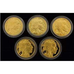 (1) COIN: 2006 W $50 American Buffalo 1 oz. .9999 gold Proof coin with box and papers. (1) COIN: 200