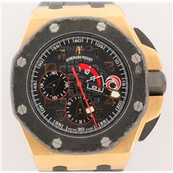 WATCH:  [1] 18KRG gents Audemars Piguet Royal Oak Offshore Team Alinghi Chronograph Limited Edition