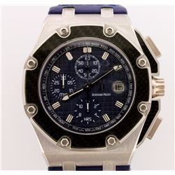 WATCH:  [1] Platinum & Carbon Fiber Gents Audemars Piguet Royal Oak Offshore Juan Pablo Montoya Chro