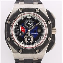 WATCH:  [1]  Platinum and Carbon Fiber Gents Audemars Piguet Royal Oak Offshore Grand Prix Limited E