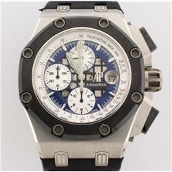 WATCH:  [1] Platinum Gents Audemars Piguet Royal Oak Offshore Rubens Barrichello II Chronograph Limi