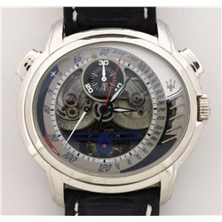 WATCH:  [1]  Platinum Gents Audemars Piguet Millenary Maserati MC12 Tourbillion Chronograph Limited