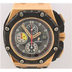 WATCH:  [1] 18KRG & black ceramic Gents Audemars Piguet Royal Oak Offshore Grand Prix Limited Editio