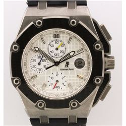 WATCH:  [1]  Titanium & Carbon Fiber Gents Audemars Piguet Royal Oak Offshore Juan Pablo Montoya Chr