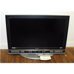 "Misc. Personal Property/Electronics (1): Sony Bravia 40"" flat screen TV and remote, with stand.  (TV"