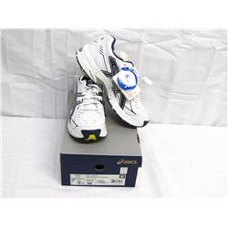 Clothing (1): pair ASICS 9.5 (new in box) Gel 150 TR White Navy Silver