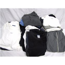 Clothing (19): 4 large long sleeve white t-shirts w/tags (Old Navy, Banana Republic, Steve & Barry),