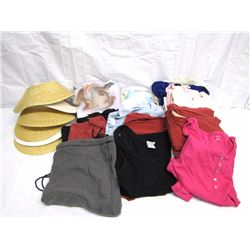 Clothing (32) Women's used clothing: 1 pair pants, 4 pant sets and tops, 3 work out sets, dress, 3 p